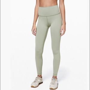 Lululemon Wunder Under High-Waisted Leggings